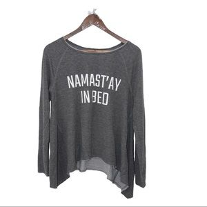 """Grayson Threads """"NAMAST'AY IN BED"""" Shirt"""
